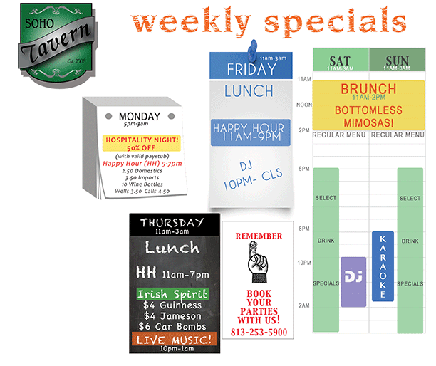 sohotavern_tampa_weekly_specials